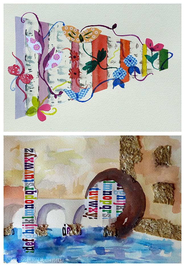 aquarel zomer 3-daagse, atelier van vegchel