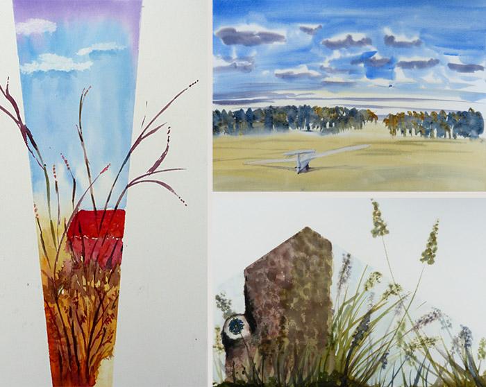 aquarel workshop schilder vakantie